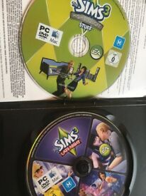The Sims 3- ( 2 games included) High End Loft Stuff and Late Night