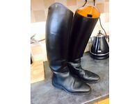 SIZE 7 Petrie long horse riding boots