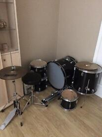 Quick Sale! Drum Kit and Stagg Cymbal