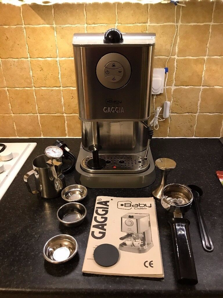 Gaggia Baby Class espresso machine with upgraded steam wand and ...