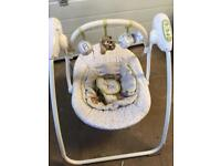 Baby lullaby rocker from Mothercare