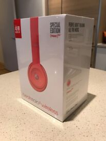 Beats Solo3 Red Edition - Brand new, sealed w/ warranty