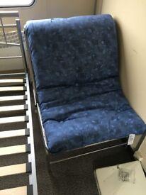 Futon chair with mattress single futon chair