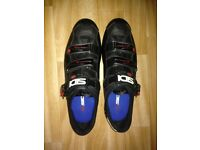 SIDI Genius Road Cycling shoes, Carbon sole, Black size 48(11.5)