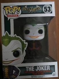 Funk POP Vinyl The Joker Arkham Asylum