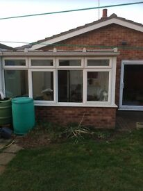 CONSERVATORY FOR SALE and PAIR OF PATIO DOORS