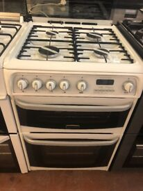 60CM WHITE CANNON GAS COOKER