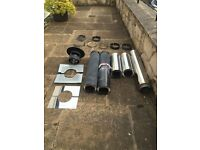 """Scheidel ICS 6"""" Twin Wall Chimney Components (Used)"""
