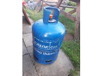 Calor Gas 15kg Blue Butane Bottle - Nearly Full.