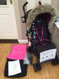 Silver cross pop butterflies 🦋 pram/pushchair with accessories 🦋 £75 no offers 🦋