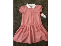 Age 6/7 brand new red school dress