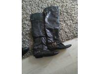boots knee high