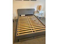 Ikea Slattum Double Bed Frame