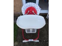 Chicco Poly Magic Highchair - Used but in very good condition