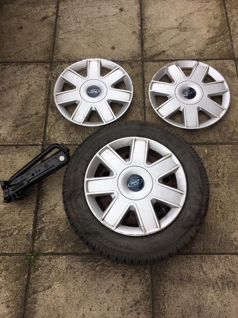 Ford Ka Wheel Trims And New Tyre Ka Wheel And Wheel Trim