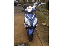 Motorbike Sinnis SHUTTLE 125cc