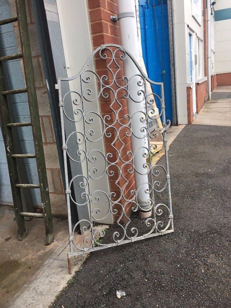 Lovely ornate garden gate