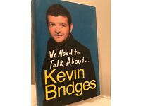 We need to talk about...Kevin Bridges (hardback book)