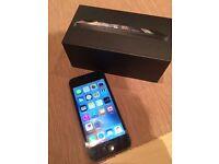 Black iPhone 5, 16 GB unlocked