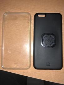 Quad Lock iPhone 6+ case & poncho