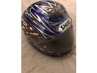 SHOEI Men's Motorbike Helmet W12 (Used Very Good)