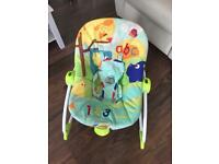 Baby Rocker in good condition woth Recline and vibration