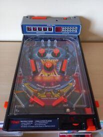 Retro Atomic Pinball Machine