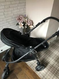 Baby jogger black pushchair