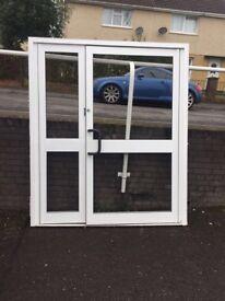 Used Aluminium doors
