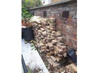 Loads of half yellow stock bricks and bricks to be used for hardcore