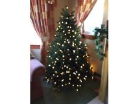 6ft Balsam Hill Luxury pre-lit Christmas Tree using Balsam Hill's signature True Needle™ technology