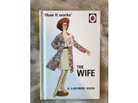 """How it works"" - The Wife (joke book)"