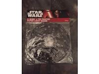 Unopened paper Star Wars x wing v tie fighter