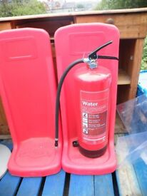 Fire Extinguisher and surround. Choose type