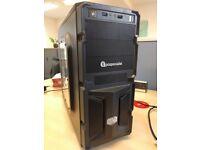 PC Specialist Fast Quad Core AMD FX-4300 8GB RAM 2TB-HDD GTX 1060 3GB gaming computer