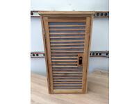 Bathroom hanging cabinet / bamboo cabinet