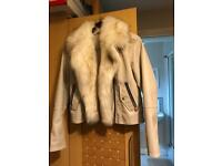 River island White coat
