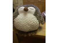 Cosy Time 30cm Hand Warmer/Cuddly Toy - OWL