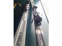 2007 head cyber x50 skis