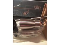 REDUCED - Saxby Hiro 4 Bar Brushed Chrome Light Fitting - Brand New in Box, more than 1 available
