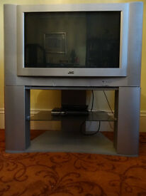 32 inch JVC analogue TV with stand. Works fine with digital box. £50