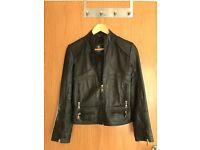Leather Women's Biker Jacket £35 ONO