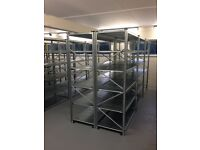 Brand new Shelving for Warehouse, Garage, Storage rooms. Top quality. Last stock . Selling out!