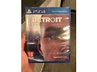 Detroit Become Human - PS4 Game (Brand New Sealed)