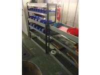 Van racking van storage