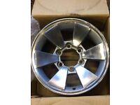 mitsubishi alloy wheels Pajero L200 4x4