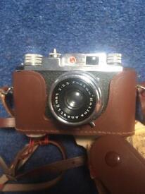 Halina 35X Vintage Film Camera with exposure meter