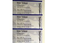 Theatre tickets for sale