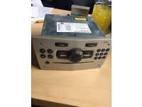 BLAUPUNKT Vauxhall Corsa Astra CD30 Radio Stereo CD Player Silver