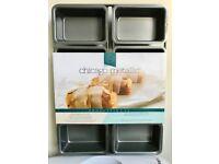 8 Hole Mini Loaf Baking Tin -- brand new